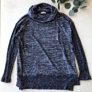 Gap Blue Cowl Neck Sweater